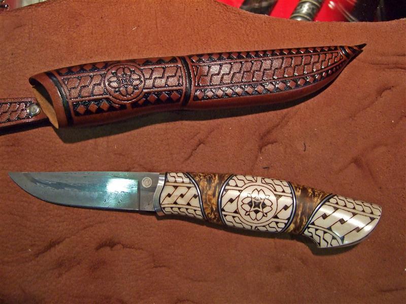 Нож в скандинавском стиле своими руками