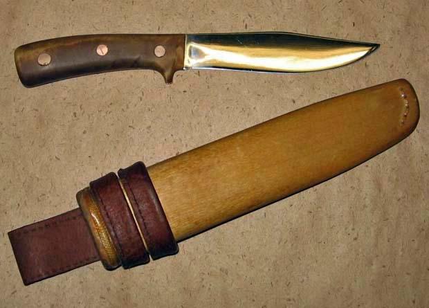 Ножны для ножей из дерева своими руками